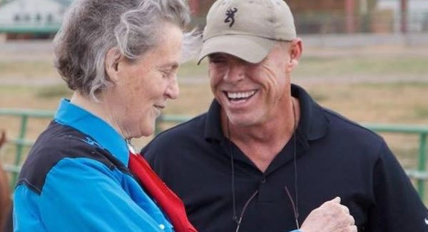 Mark Deesing and Temple Grandin