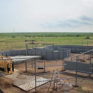 Curved Handling System on Cow-Calf Ranch
