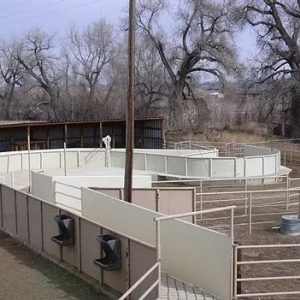 Small Ranch Cattle Corral System