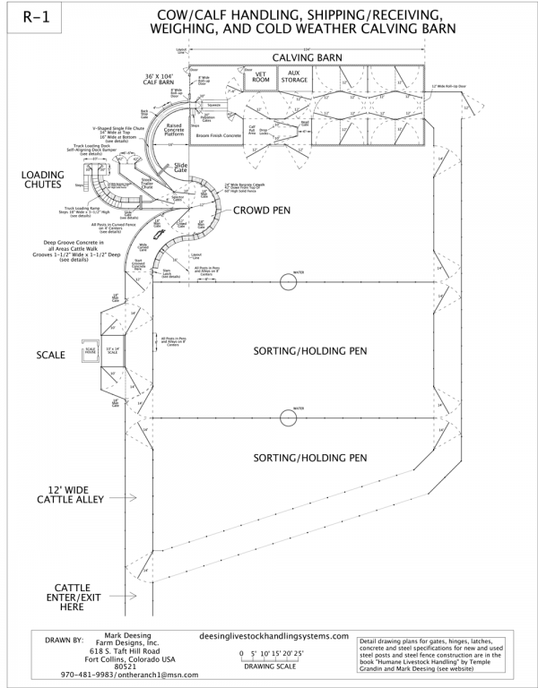 R-1 Facility Drawing