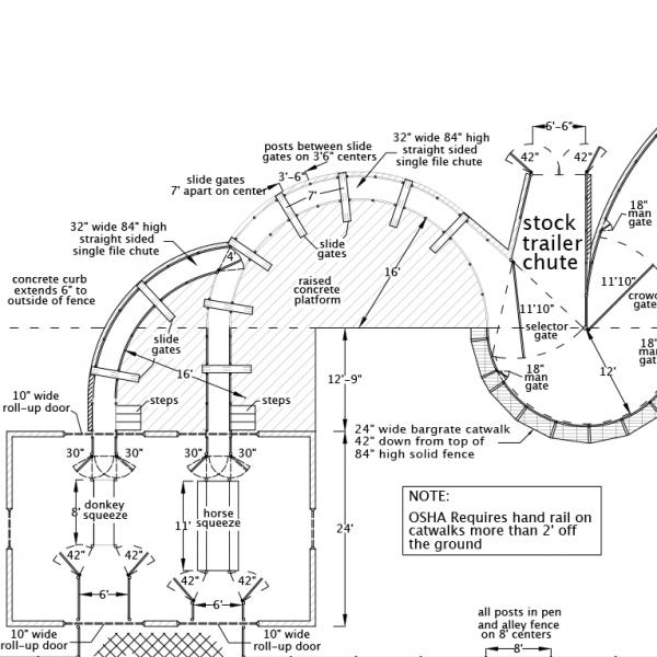R-12 Facility Drawing Close-Up