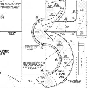 R-13 Facility Drawing Close-Up
