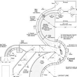 R-2 Facility Drawing Close-Up