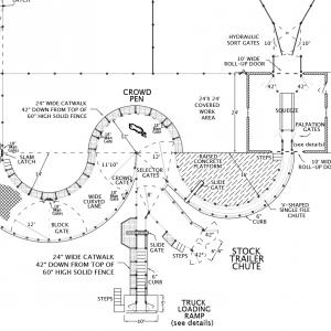 R-4 Facility Drawing Close-Up