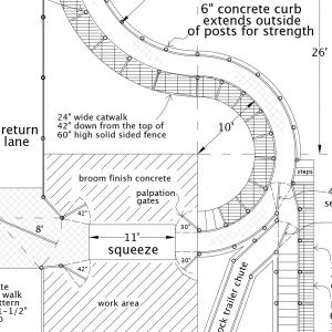 R-6 Facility Drawing Close-Up
