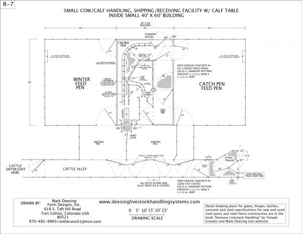 R-7 Facility Drawing