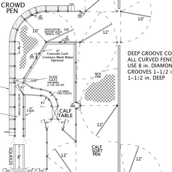 R-7 Facility Drawing Close-Up