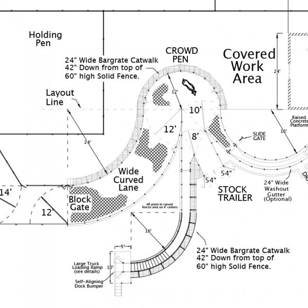 R-8 Facility Drawing Close-Up