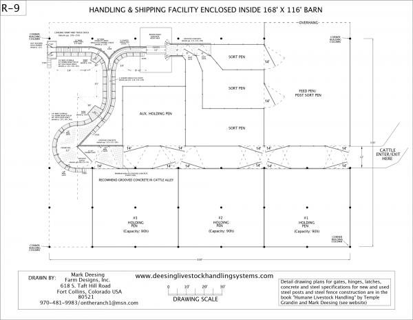 R-9 Facility Drawing