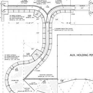 R-9 Facility Drawing Close-Up