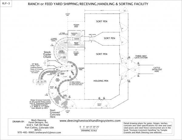 Ranch or Feed Yard Drawing 3