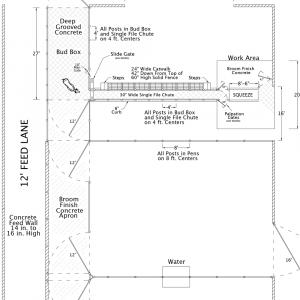 Ranch or Feed Yard Drawing 5