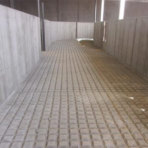 12-foot wide lead-up alley